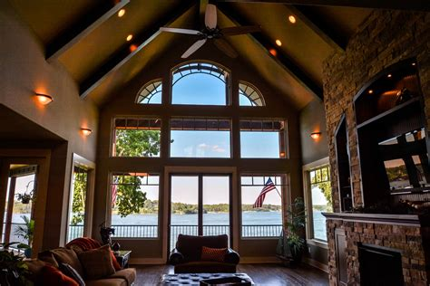 house plans with vaulted great room 3 story lake cabin with great room cathedral ceiling sublipalawan style