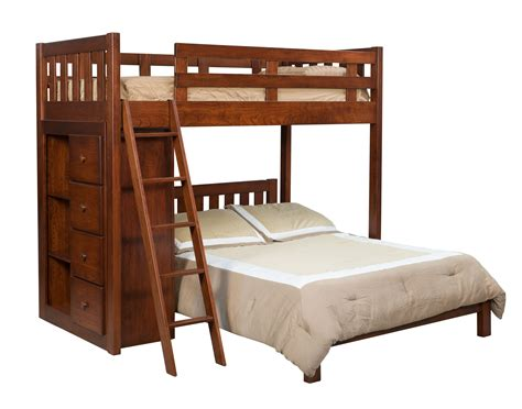 bookcase bunk beds bunkbed w bookcase hardwood creations