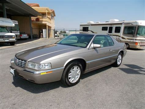 auto air conditioning service 2000 cadillac eldorado electronic throttle control find used grandpa s 2000 cadillac eldorado esc with only 19 000 miles 1 owner in fontana