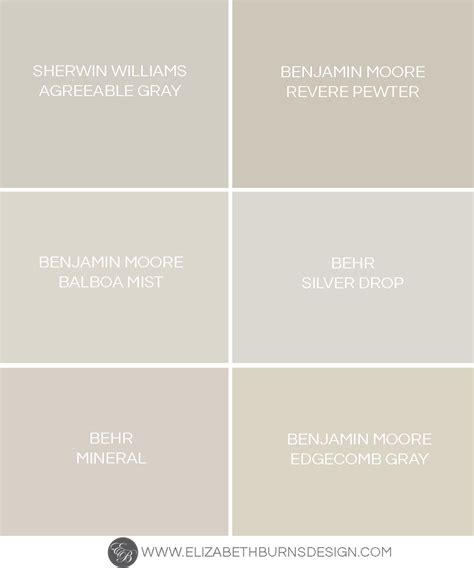 behr paint color greige the shades of greige revere pewter benjamin