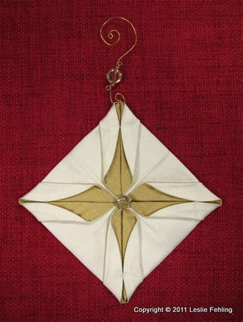 fabric origami ornaments 11 best images about japanese folding on
