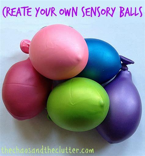 how to make balls how to make sensory balls