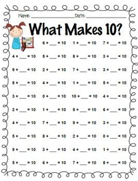make ten card 61 best images about teaching math tens on