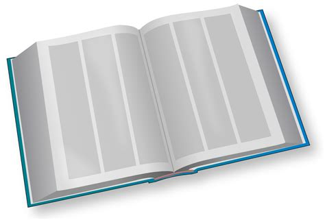 big book of pictures file big book blue svg wikimedia commons