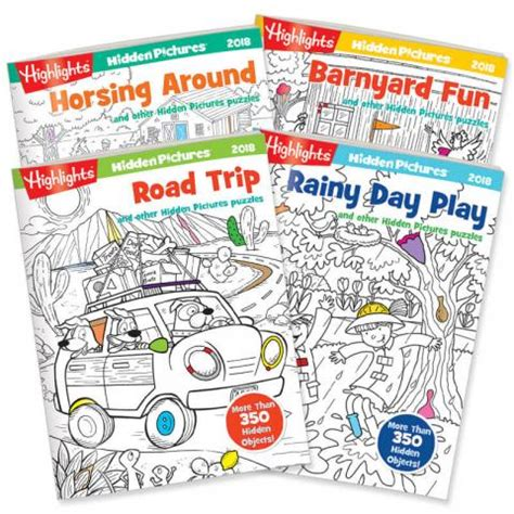 highlights pictures books pictures 174 2018 4 book set highlights for children