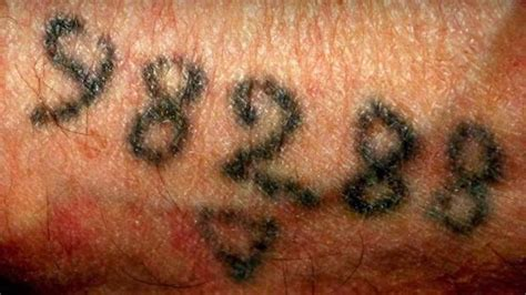 holocaust tattoos sbs news