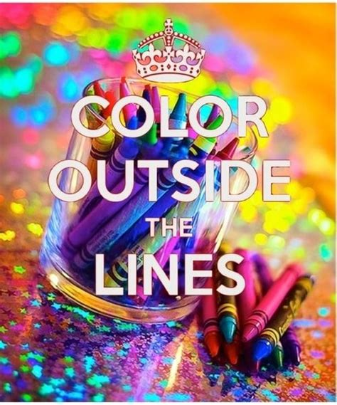 paint color quotes color outside the lines rainbow color quotes