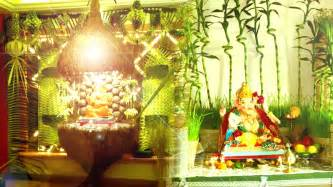 ideas at home 10 simple yet creative ganpati decoration ideas
