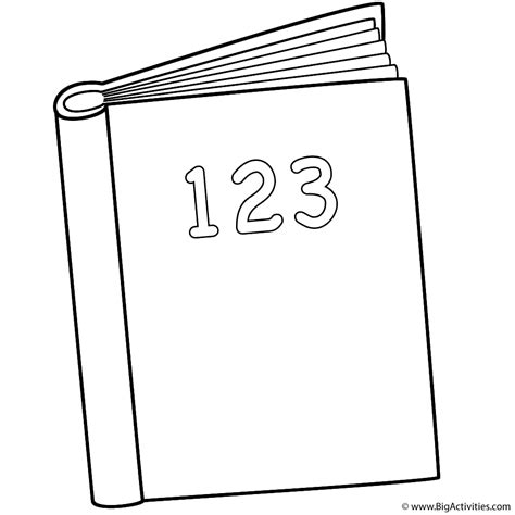 coloring pictures of books 123 book coloring page back to school