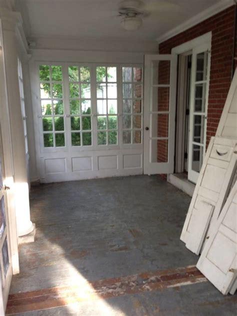 paint colors for porch enclosed porch floor color paint