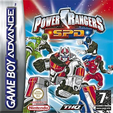 covers box power rangers space delta gba 24 of 24