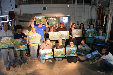 bob ross painting workshops bob ross paint along class may 18th i3detroit