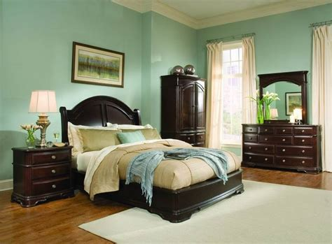 paint colors for bedroom with brown furniture light green bedroom ideas with wood furniture light