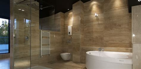 Bathroom Tile Flooring Ideas For Small Bathrooms large wall tiles the bigger the better make your