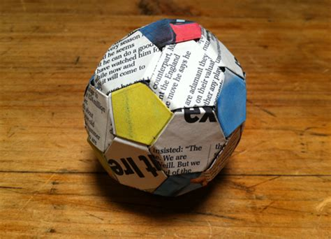 how to make an origami football wordsandpicturesandthings origami football