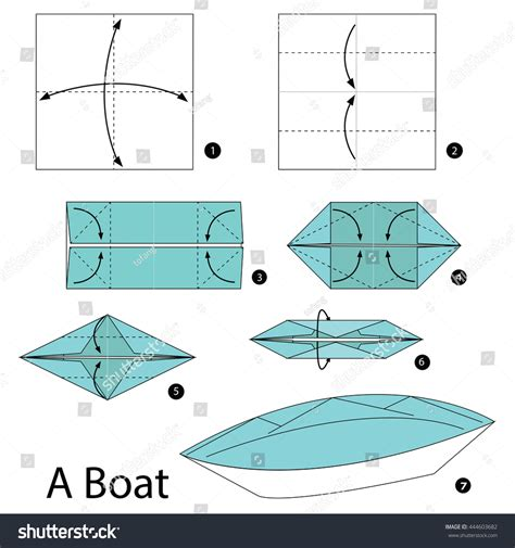 how to make a origami boat step by step origami for a boat comot