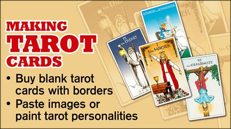 make tarot cards simple diy on how to make your own tarot cards