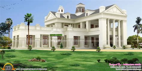 colonial style home design in kerala luxury colonial style house architecture kerala home