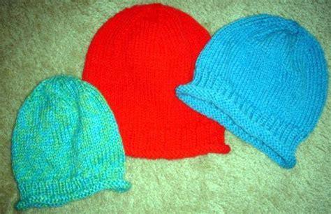 beginner knit hat pattern circular needles easy circular knit hat by frugal knitting haus craftsy