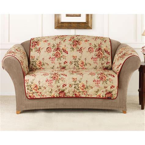 sofa furniture covers sure fit 174 floral sofa pet cover 292857