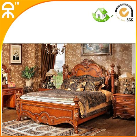 room store bedroom furniture 1 bed 2 stand importing solid wood bedroom furniture