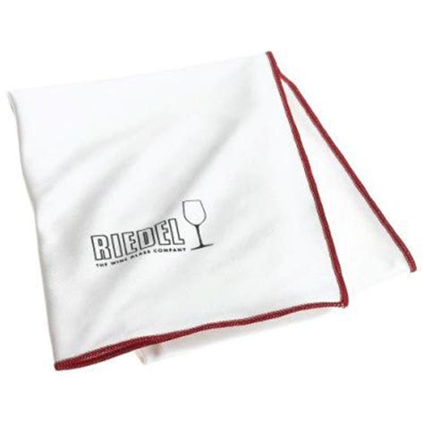 riedel cleaning riedel microfibre cleaning cloth white with