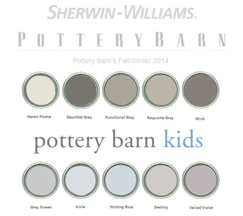 paint colors pottery barn pottery barn paint colors 2014