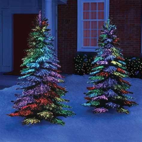 fibre optic outdoor trees the thousand points of light tree this is the indoor