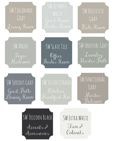 paint colors for fixer 25 best ideas about fixer paint colors on