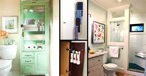 storage in a small bathroom 50 small bathroom ideas that you can use to maximize the