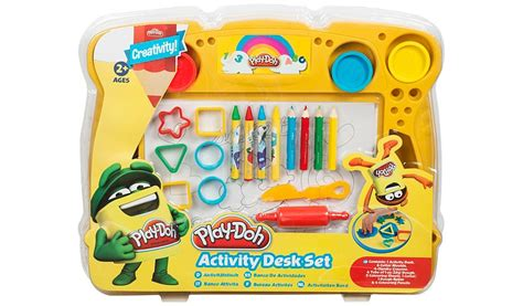 play desk play doh activity desk set george at asda