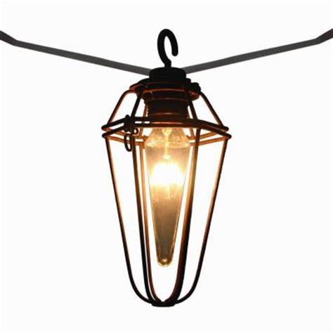 outdoor string lights home depot retro mercury 8 light outdoor patio cafe string light