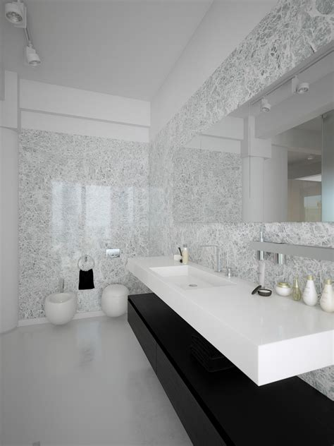 white modern bathroom modern minimalist black and white lofts