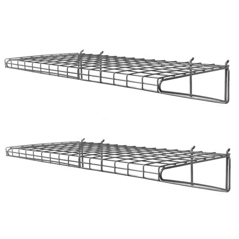 Closetmaid 3 Foot Wire Utility Shelf Closetmaid Superslide 72 In W X 12 In D White Ventilated