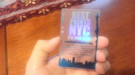 how to make a hologram card best prints nyc holographic and metallic translucent