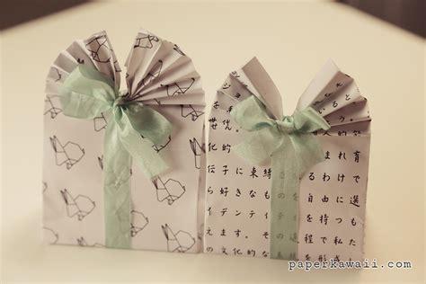 origami paper bag origami gift bag tutorial paper kawaii