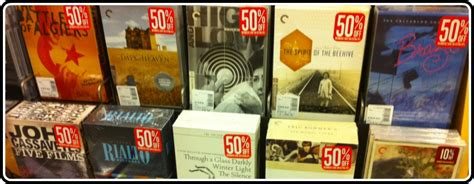 barnes and noble sale the barnes and noble 50 criterion collection sale is