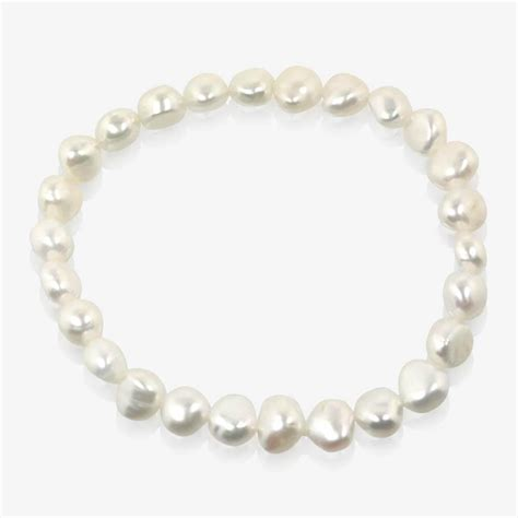 cultured pearl amelie real cultured freshwater pearl bracelet
