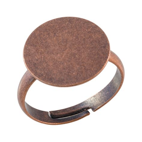 blank rings for jewelry ring blanks with glue pad finger ring blanks jewelry