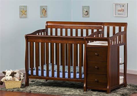 convertible crib with changing table useful convertible crib with changing table for baby