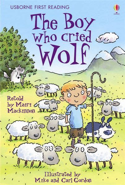 the boy who cried wolf picture book aesop s fables hookedoninspiration s
