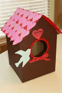 paper bag crafts for preschoolers preschool crafts for valentin s day bird house card
