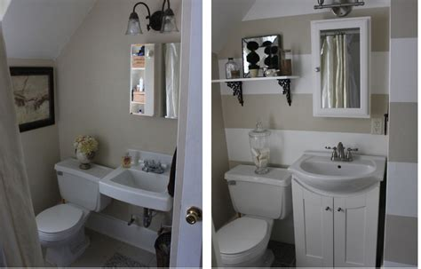 Small Bathrooms Makeover by Small Bathroom Makeover Grease