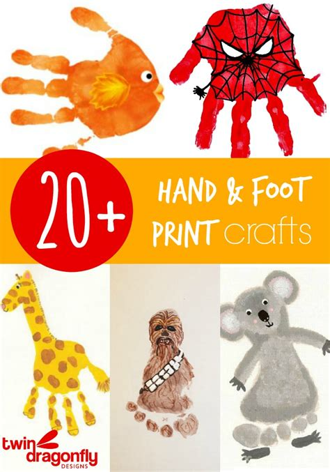 print crafts 20 and footprint crafts 187 dragonfly designs