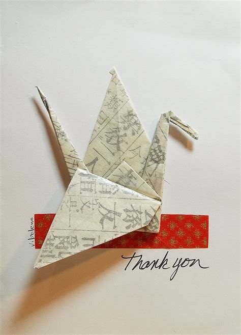 thank you origami 17 best images about thank you cards on