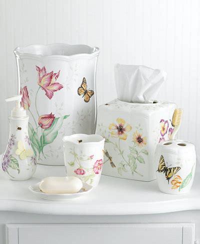 lenox bathroom accessories lenox quot butterfly meadow quot bath accessories bathroom