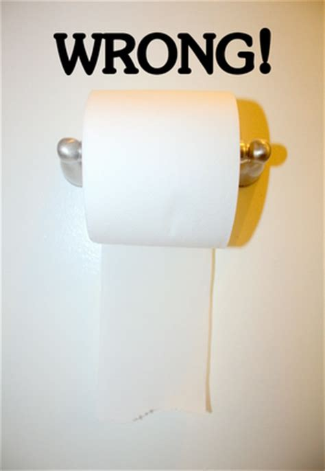 Toilet Paper Backwards by My Toilet Paper Tirade Man Wife And Dog Blog