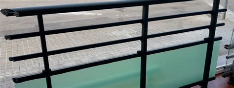barandilla de aluminio barandillas de aluminio en gandia 187 aluart ventanas s l l