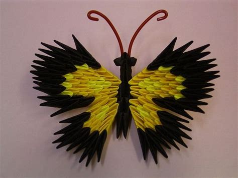 3d origami butterfly 17 best images about origami 3d on quilling