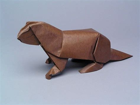 otter origami 17 best images about oragami on white